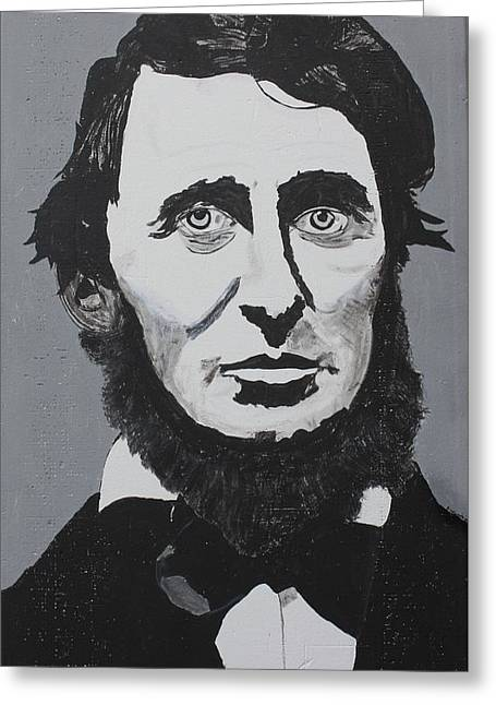Thoreau Greeting Card by Ralph LeCompte