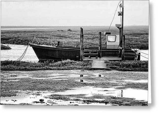 Thornham Harbour, North Norfolk Greeting Card