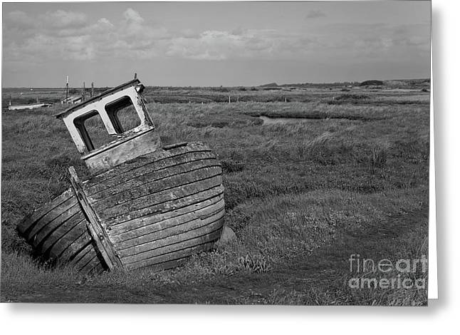 Thornham Wreck Greeting Card
