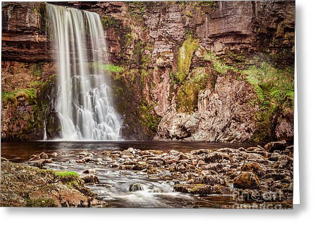 Greeting Card featuring the photograph Thornton Force, Yorkshire Dales by Colin and Linda McKie