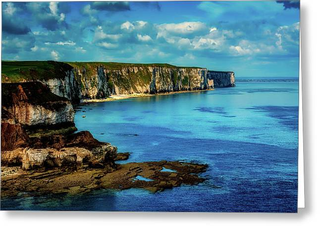 Thornwick Bay England Greeting Card