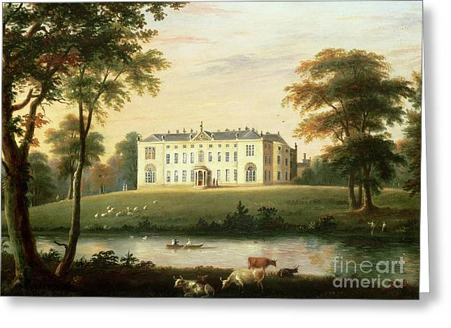 Punting Greeting Cards - Thorp Perrow near Snape in Yorkshire Greeting Card by English School