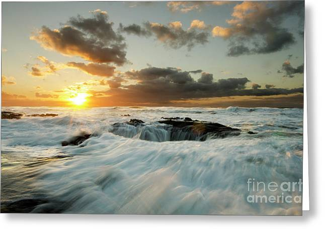 Thors Well Cape Perpetua 1 Greeting Card