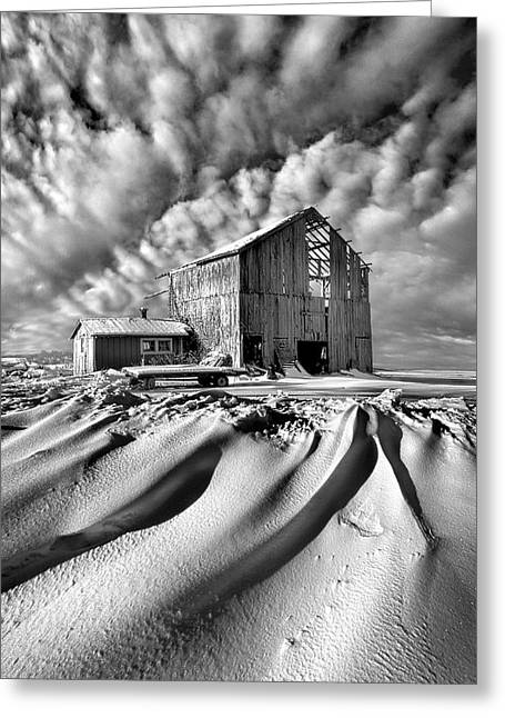 Those Were The Days Greeting Card by Phil Koch