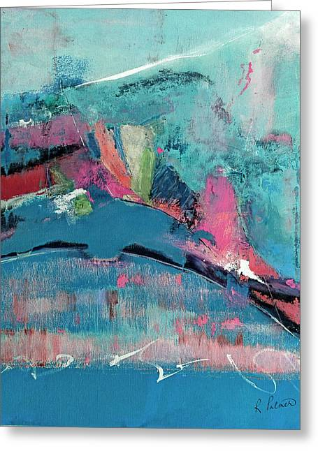 Though The Mountains Be Shaken Greeting Card by Ruth Palmer