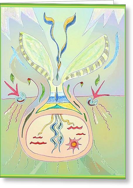 Thought Seed Greeting Card