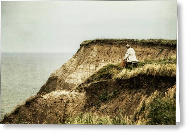 Greeting Card featuring the photograph Thoughts Travel Far by Odd Jeppesen