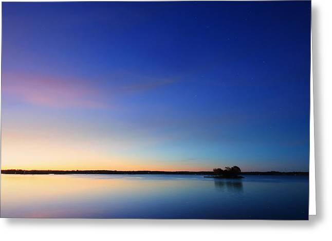 Thousand Island Park Sunrise Greeting Card by Lori Deiter