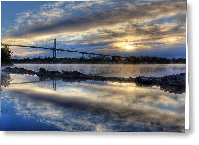 Thousand Islands Bridge Greeting Card