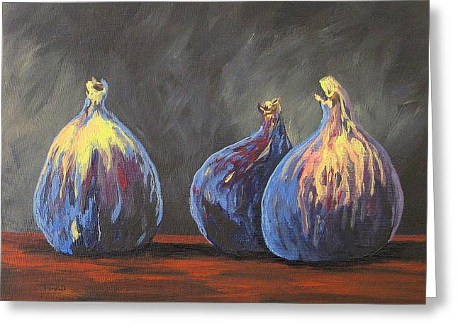 Three Figs Greeting Card