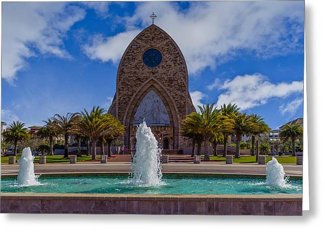 Three Fountains Of Ave Maria Greeting Card