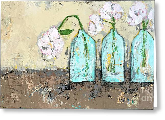 Three Of A Kind Greeting Card by Kirsten Reed