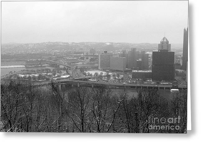 Three Rivers Greeting Card by David Bearden