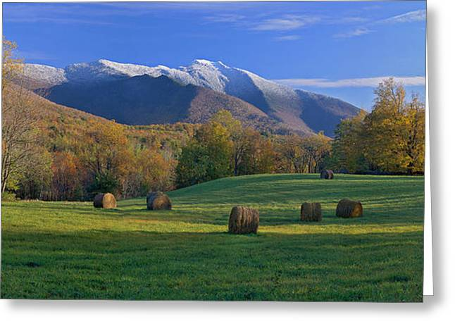 Three Seasons Mt. Mansfield Vermont Greeting Card