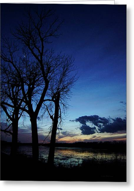 Greeting Card featuring the photograph Three Sisters by Cricket Hackmann