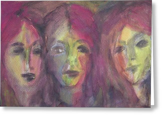 Three Sisters Greeting Card