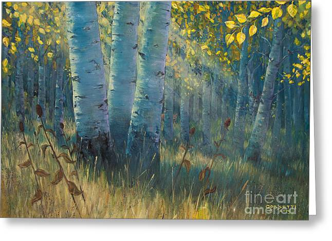 Three Sisters - Spirit Of The Forest Greeting Card
