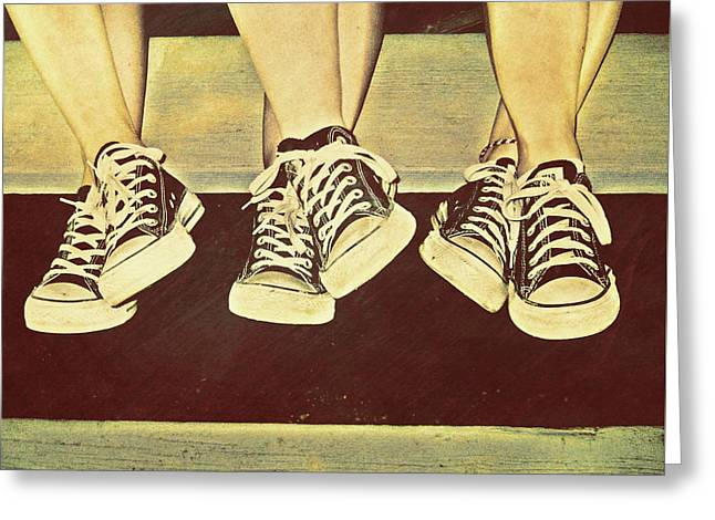 Three Stooges Greeting Card by JAMART Photography