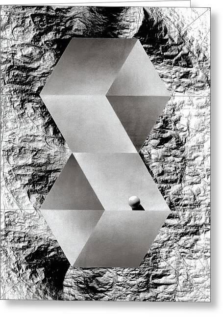 Threshold Greeting Card by David Kleinsasser