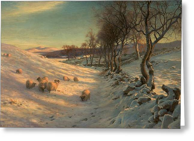 Through The Crisp Air Greeting Card by Joseph Farquharson