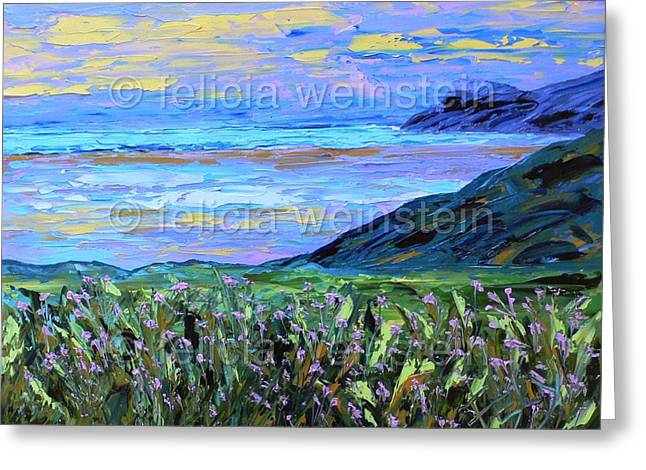 Through The Fields Greeting Card