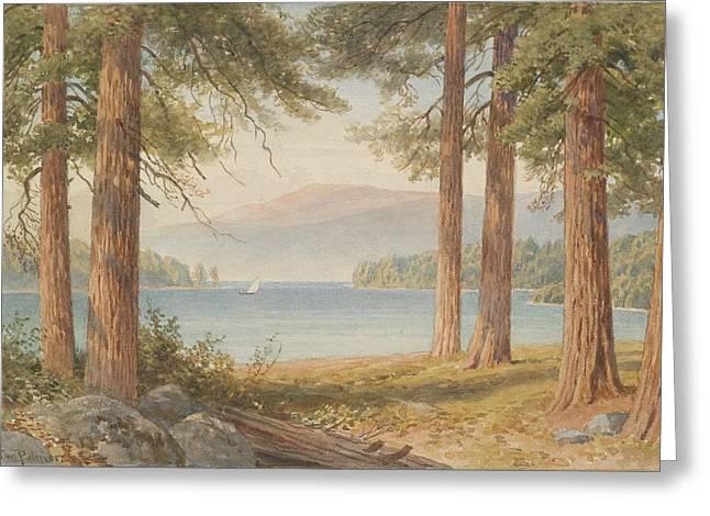 Through The Trees, United Kingdom, By Sutton Palmer. Greeting Card