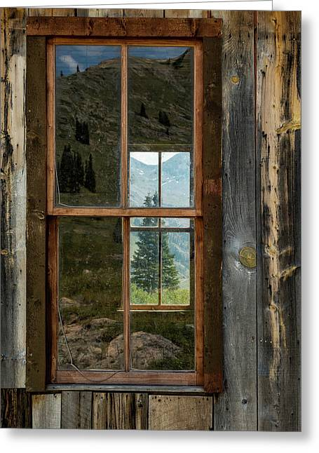 Through Yonder Window Greeting Card