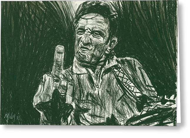 Thumbs Up Greeting Card by Michael Morgan