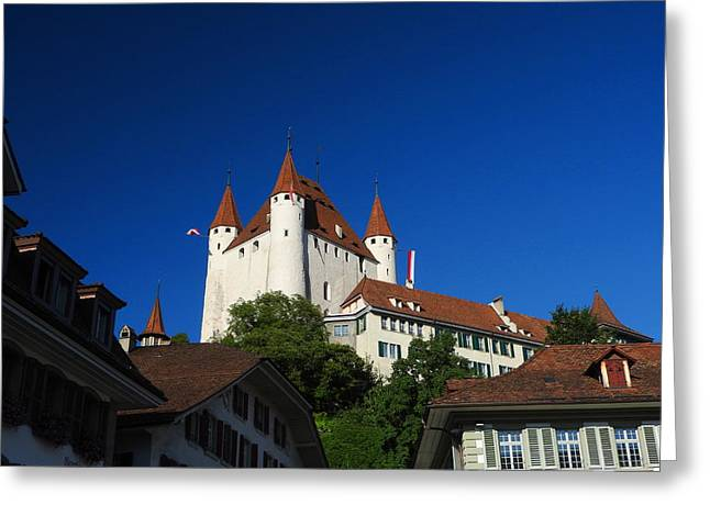 Thun Castle Greeting Card