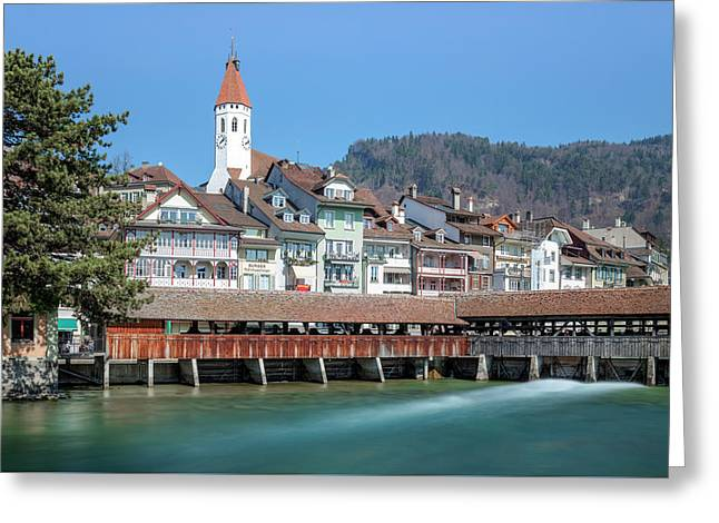 Thun - Switzerland Greeting Card