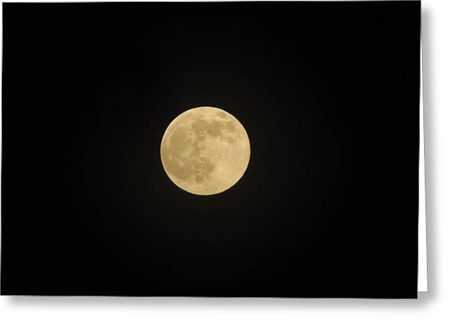 Thunder Moon Greeting Card