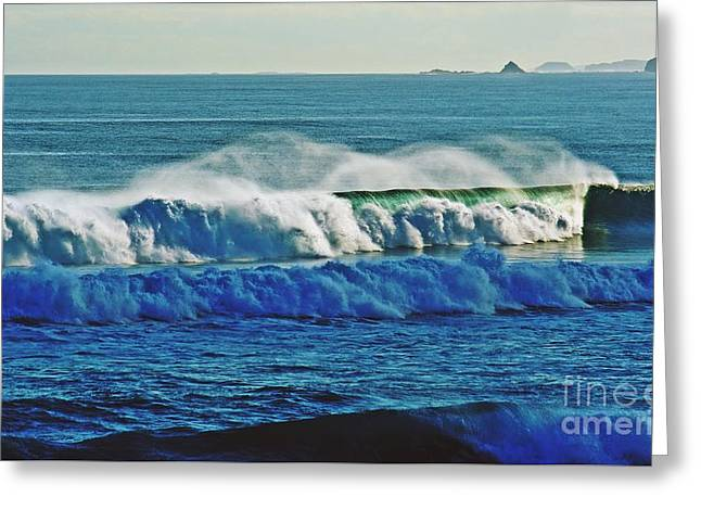 Thunder Of The Waves Greeting Card by Blair Stuart