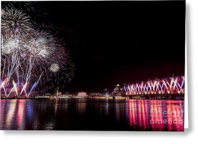 Thunder Over Louisville Greeting Card