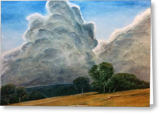 Thunder Struck Greeting Card by Kent Stucky