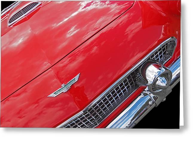 Thunderbird '56 Detail Greeting Card