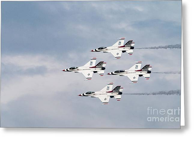 Thunderbird Air Force Planes Greeting Card
