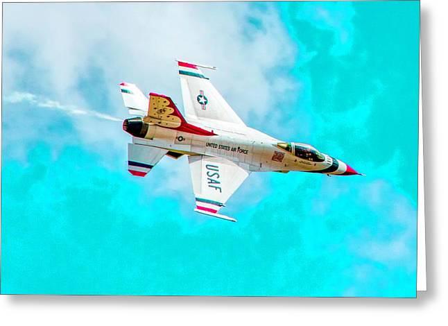 Thunderbird IIi Greeting Card by Bill Gallagher
