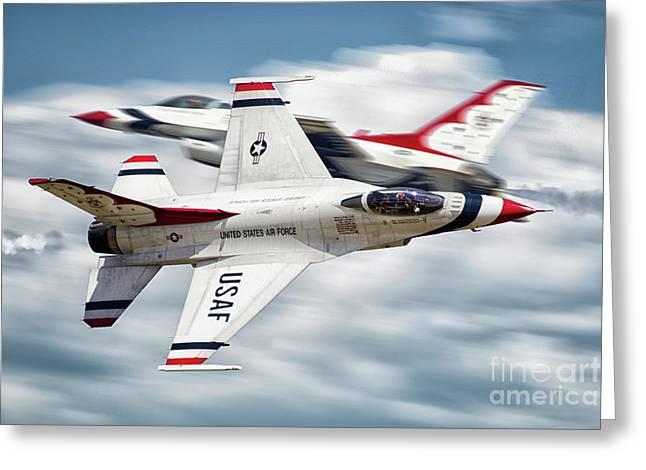 Thunderbird Pass Greeting Card