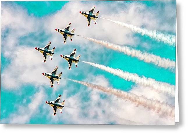 Thunderbirds - All 6 Greeting Card