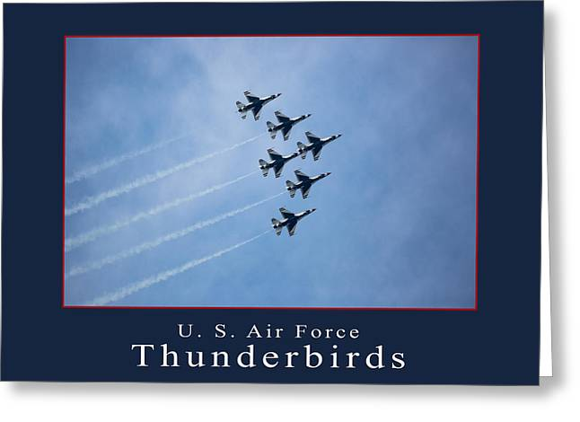 Thunderbirds Greeting Card
