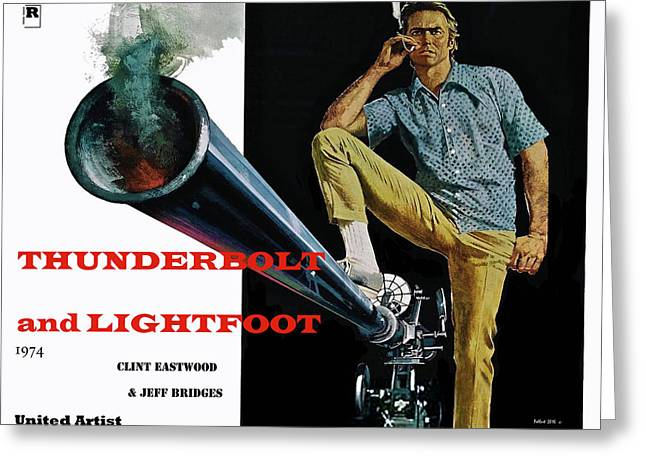 Thunderbolt And Lightfoot, Clint Eastwood, Jeff Bridges Greeting Card