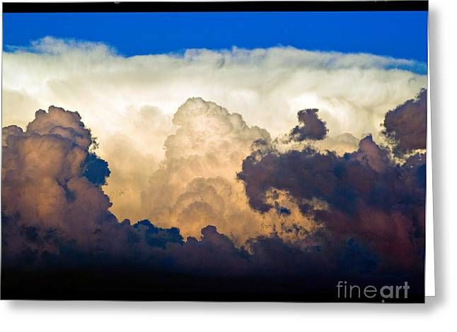 Thunderhead Cloud Color Poster Print Greeting Card by James BO  Insogna