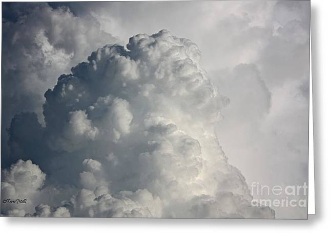 Thunderhead Clouds Greeting Card