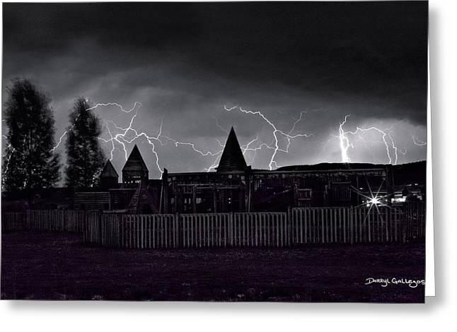 Thunderhead Greeting Card by Darryl Gallegos