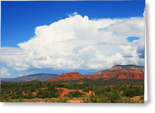 Thunderheads Forming Greeting Card
