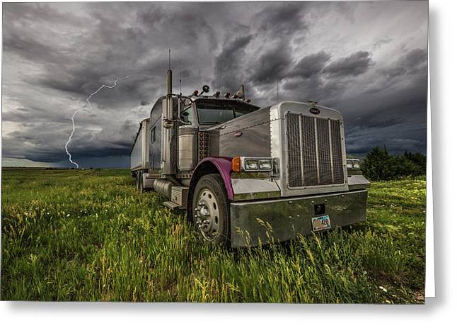 Greeting Card featuring the photograph Thunderstruck by Aaron J Groen