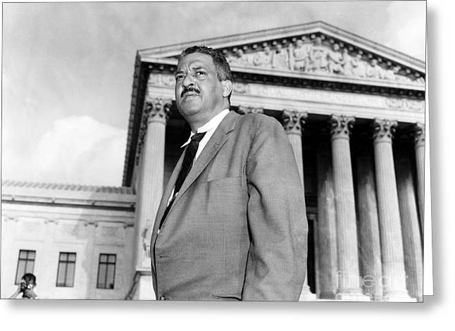 Thurgood Marshall Greeting Card