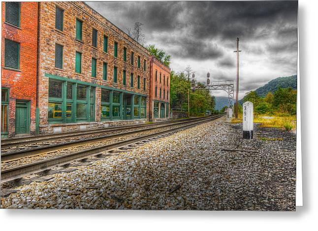 Thurmond West Virginia Hdr Greeting Card by John Mueller