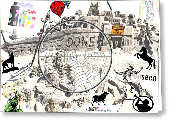 Thy Will Be Done Greeting Card