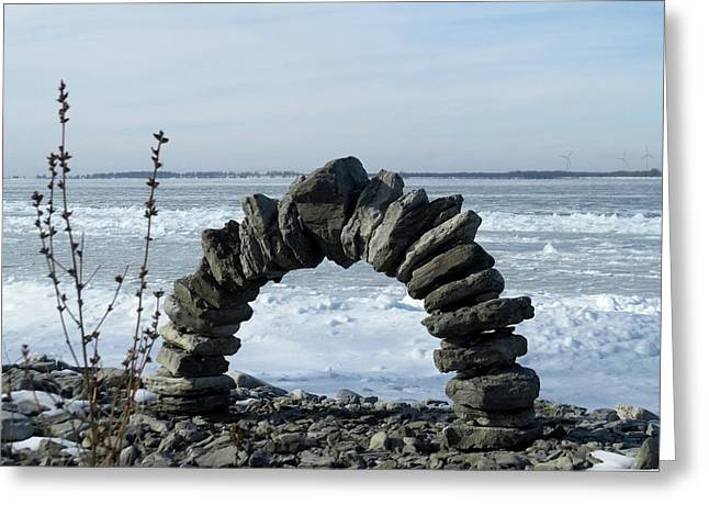 Tibbetts Point Arch Greeting Card